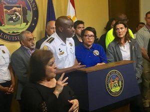 new orleans mayor declares emergency